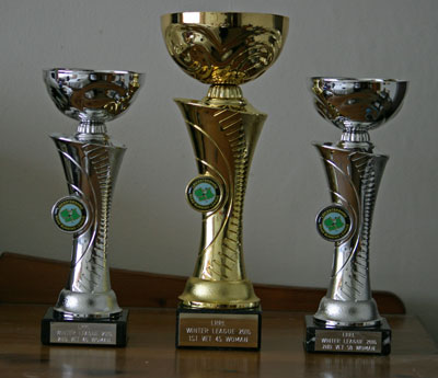 Winter League Trophies